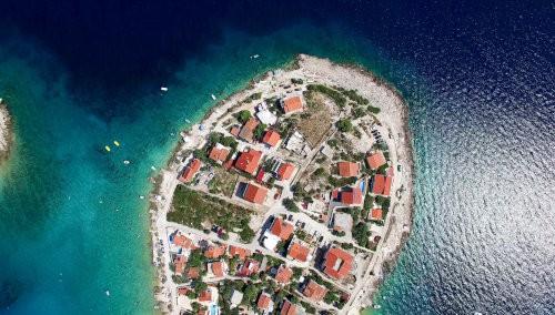 Jedna z chorwackich wysp